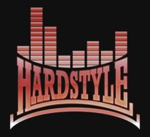 Hardstyle T-Shirt - Red by Coreper