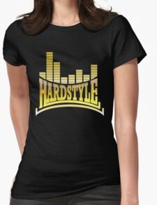 Hardstyle T-Shirt - Yellow Womens Fitted T-Shirt