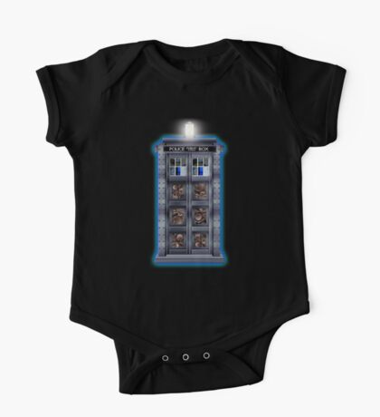 Time and Space travel Steampunk machine One Piece - Short Sleeve
