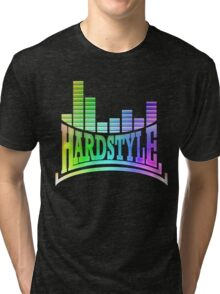 Hardstyle T-Shirt - Rainbow Tri-blend T-Shirt