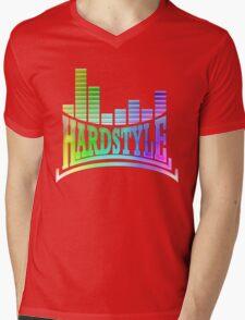 Hardstyle T-Shirt - Rainbow Mens V-Neck T-Shirt