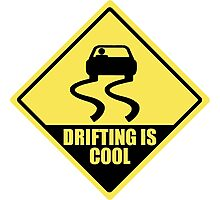 Drifting is cool Photographic Print