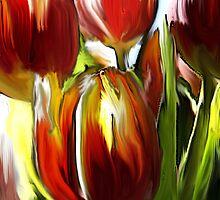 Tulip Brush by Charmain Schuh