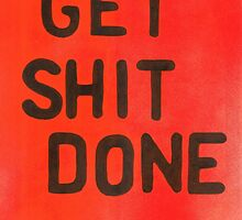 Get Shit done by Oluwaseyi Alade