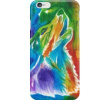 Rainbow Wolf iPhone Case/Skin