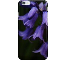 Evening bluebells iPhone Case/Skin