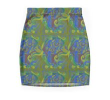 Backwards Down the Number Line - Design  5 Mini Skirt