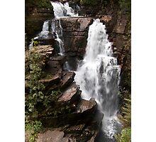 Waterfalling Photographic Print