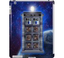 Time and Space travel Steampunk machine iPad Case/Skin