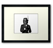 The Renegade - Black Tie Edition Framed Print