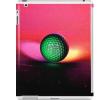 Golfball from Space  iPad Case/Skin