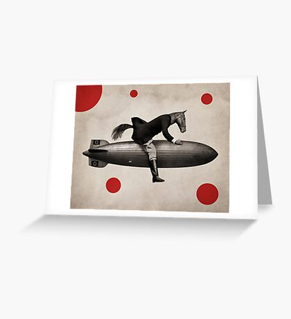 Anthropomorphic N°6 Greeting Card