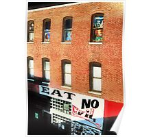 City Windows Poster