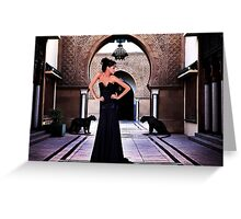 High Fashion Fine Art Print Greeting Card