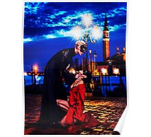 Venice High Fashion Fine Art Print Poster