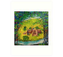 'Bolton Abbey' Art Print