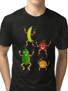 Happy Fruit Tri-blend T-Shirt