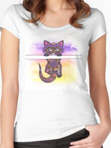 Kitteh Women's Fitted Scoop T-Shirt