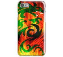 DRAGON IN FLAME iPhone Case/Skin
