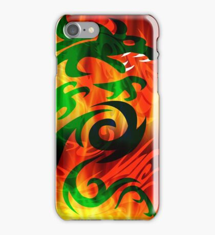 DRAGON IN FLAME iPhone Case/Skin