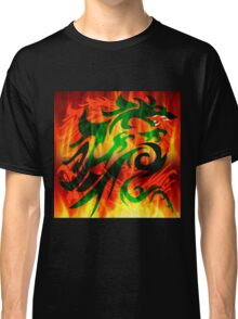 DRAGON IN FLAME Classic T-Shirt