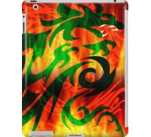 DRAGON IN FLAME iPad Case/Skin
