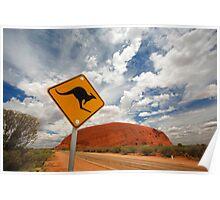 Uluru in Australia Poster