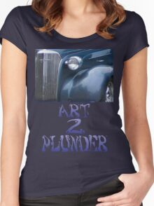 Classics 3-Blue Women's Fitted Scoop T-Shirt
