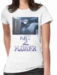 Classics 3-Blue Womens Fitted T-Shirt