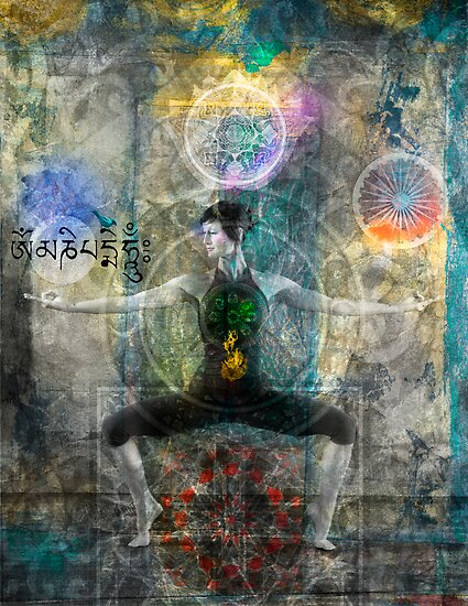 Balancing The Chakras by Elena Ray