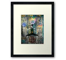 Balancing The Chakras Framed Print