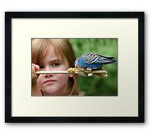 Childhood Wonderment Framed Print