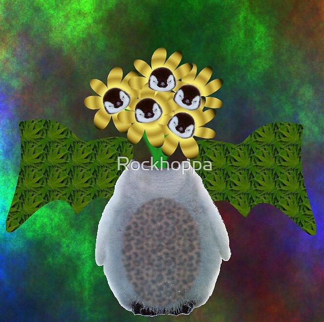Penguin Flowers by Rockhoppa