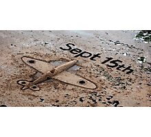 plain sand Photographic Print