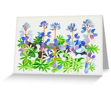 Colorful Weed Greeting Card