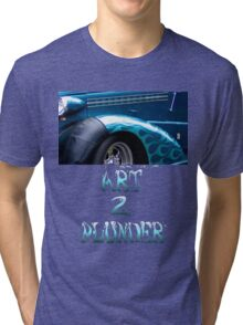 Classics 2-Teal Tri-blend T-Shirt