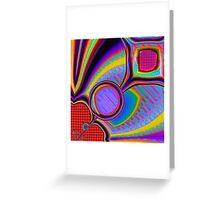 The Seeker abstract Greeting Card