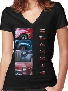 Classics 6 Women's Fitted V-Neck T-Shirt