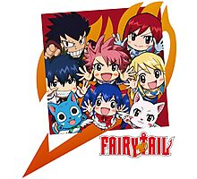 Fairy Tail Nakama !  Photographic Print