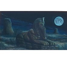 Moonlit Guardian Photographic Print