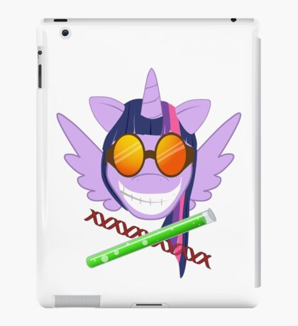 Pr. Sparkle - no text, white BG iPad Case/Skin