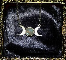 Triple Moon Goddess by Evita