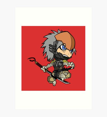 Chibi Raiden Art Print