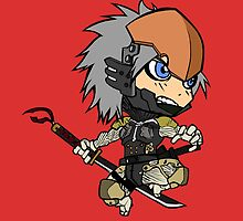 Chibi Raiden by spyrome876