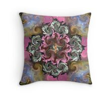 Heavenly Reflections Mandala Throw Pillow