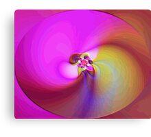 Blending Colors Canvas Print