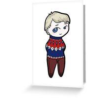 BBC John Watson - Christmas Time Greeting Card