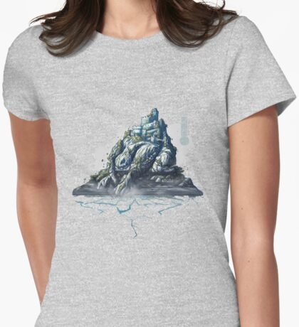 The Game of Kings, Wave Four: The White King's Rook Womens Fitted T-Shirt