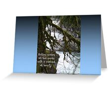 Varnish of Beauty Greeting Card