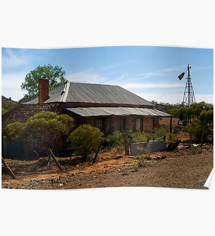 Old Stone Home at Blinman S.A. 4 Poster